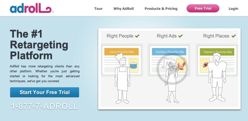 retargeting adroll Retargeting/Remarketing 让海外推广强大到恐怖