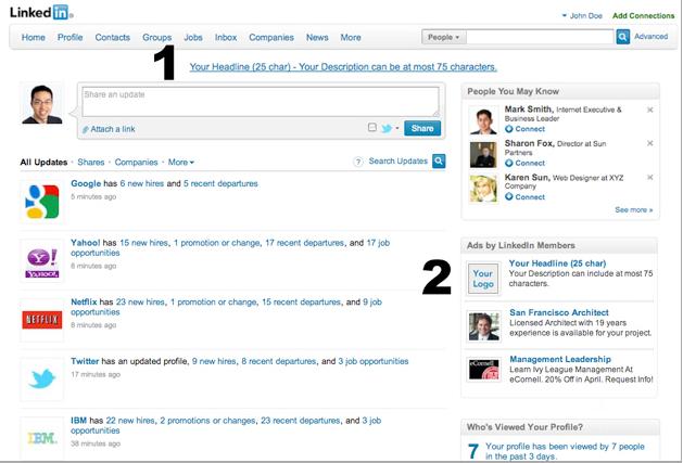 Linkedin广告展示位置 如何使用Linkedin做同行不会的海外推广?(案例+长篇)
