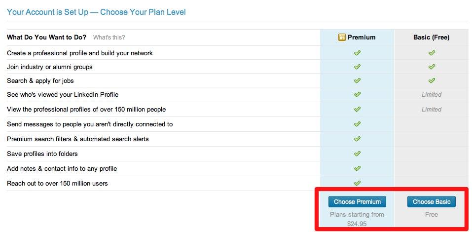 linkedin免费账户和收费账户 如何使用Linkedin做同行不会的海外推广?(案例+长篇)