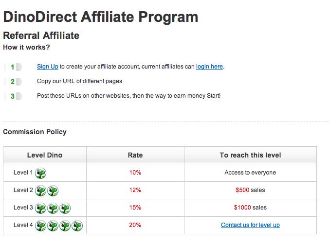 大龙网dinodirect网络联盟营销计划 外贸b2c网络营销通过affiliate联署营销增加销售