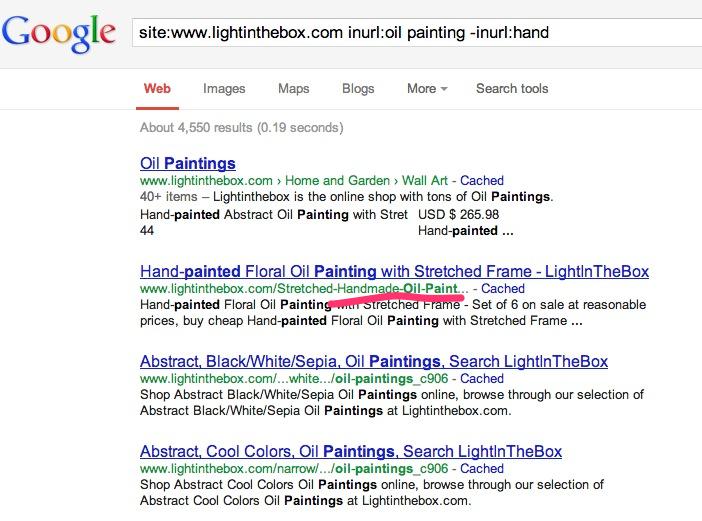 一些需要知道的谷歌搜索指令