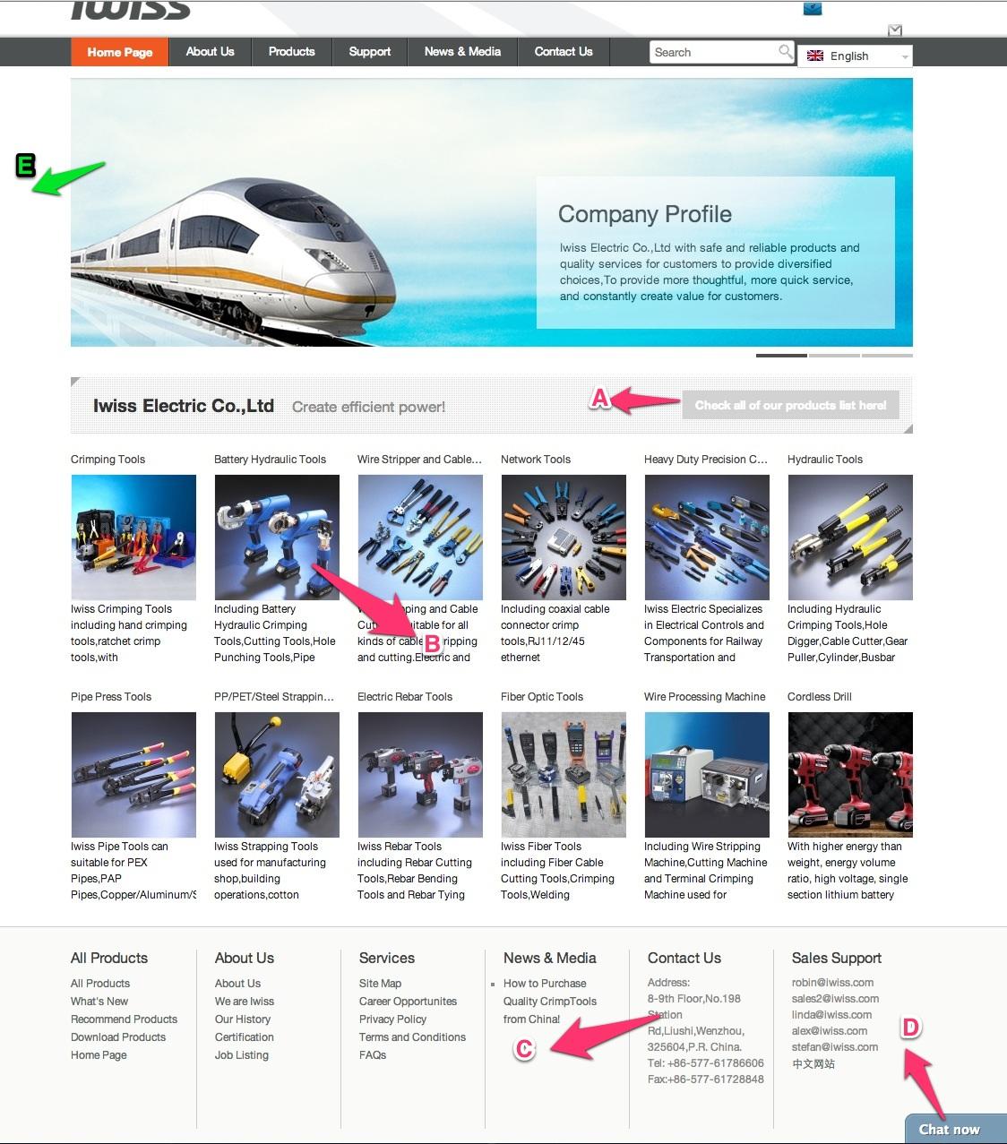 米课学员优秀营销型网站分析