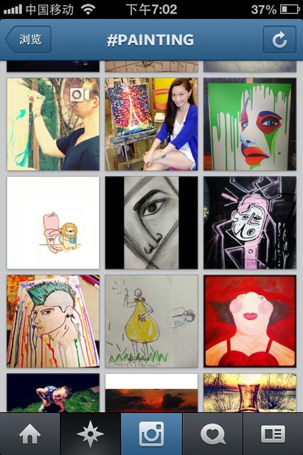 painting material Instagram   我们又多了一个营销渠道